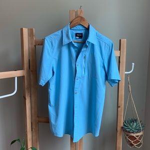 Mens' Marmot short sleeve button down shirt